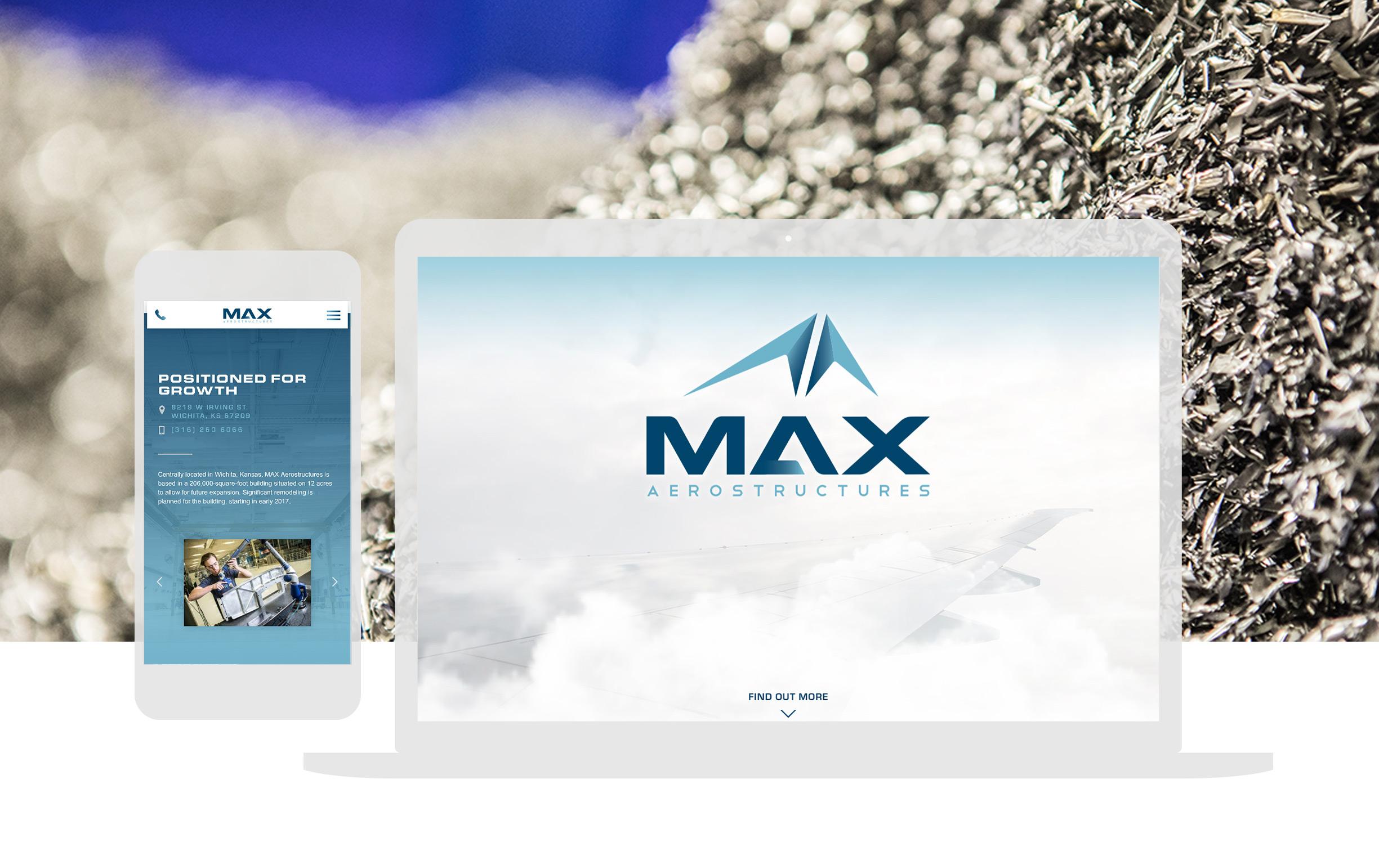Cassandra Bryan Design Wichita Kansas Website Design Developement Max Aero Full Width