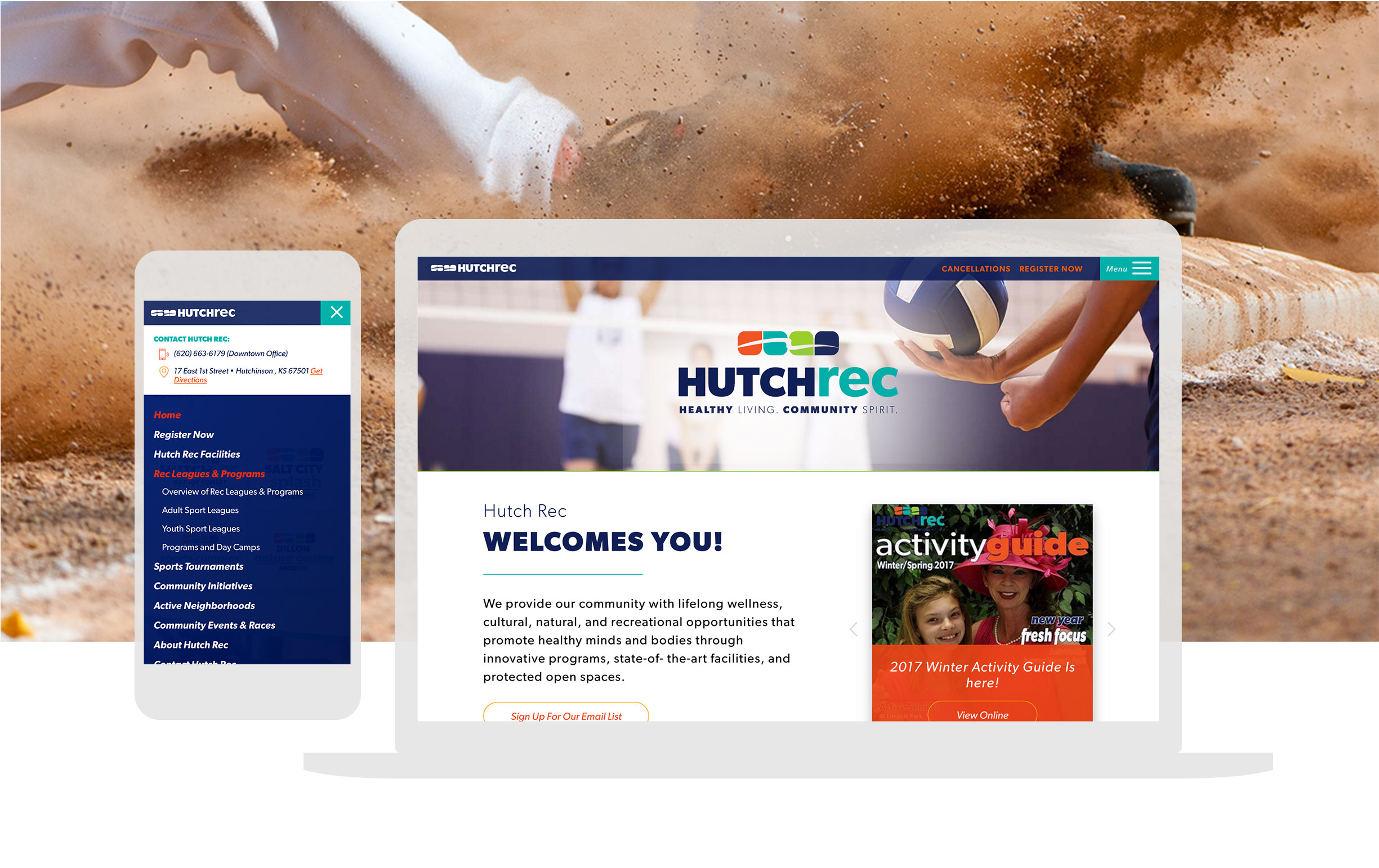 Hutchrec Non Profit Website Design And Branding_cbd 2