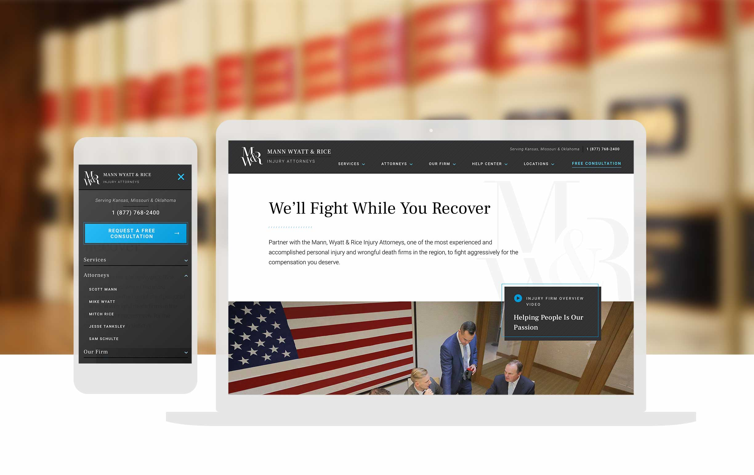 Law Firm Custom Website Design_cassandra Bryan Design_2