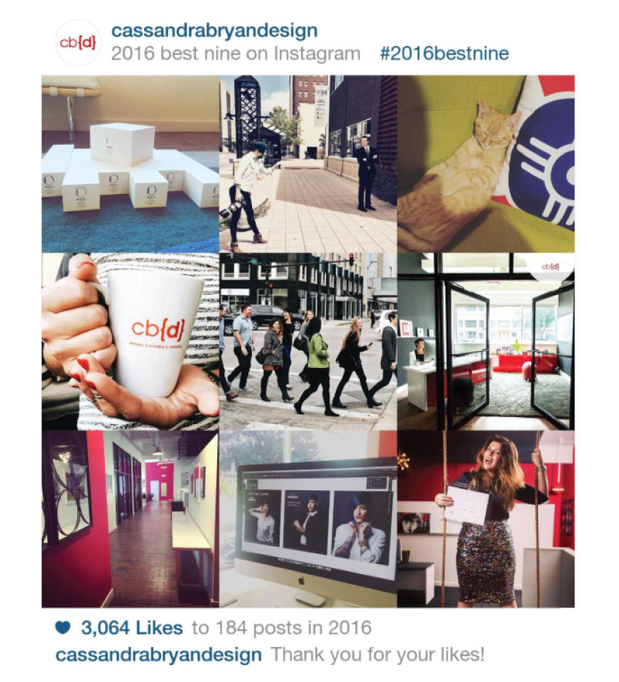 Wichita web design company best 9 instagram posts 2016