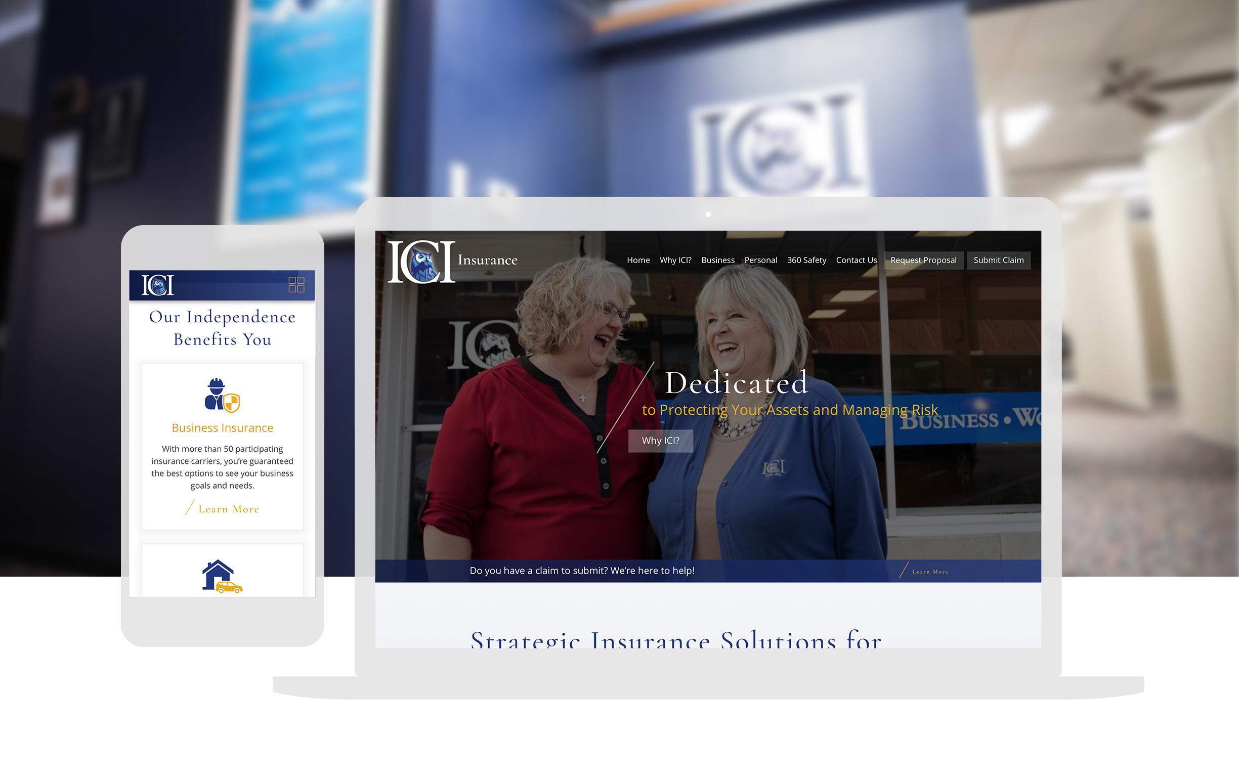 Cassandra Bryan Design Wichita Ks Manufacturing ICI Insurance Full Width Image