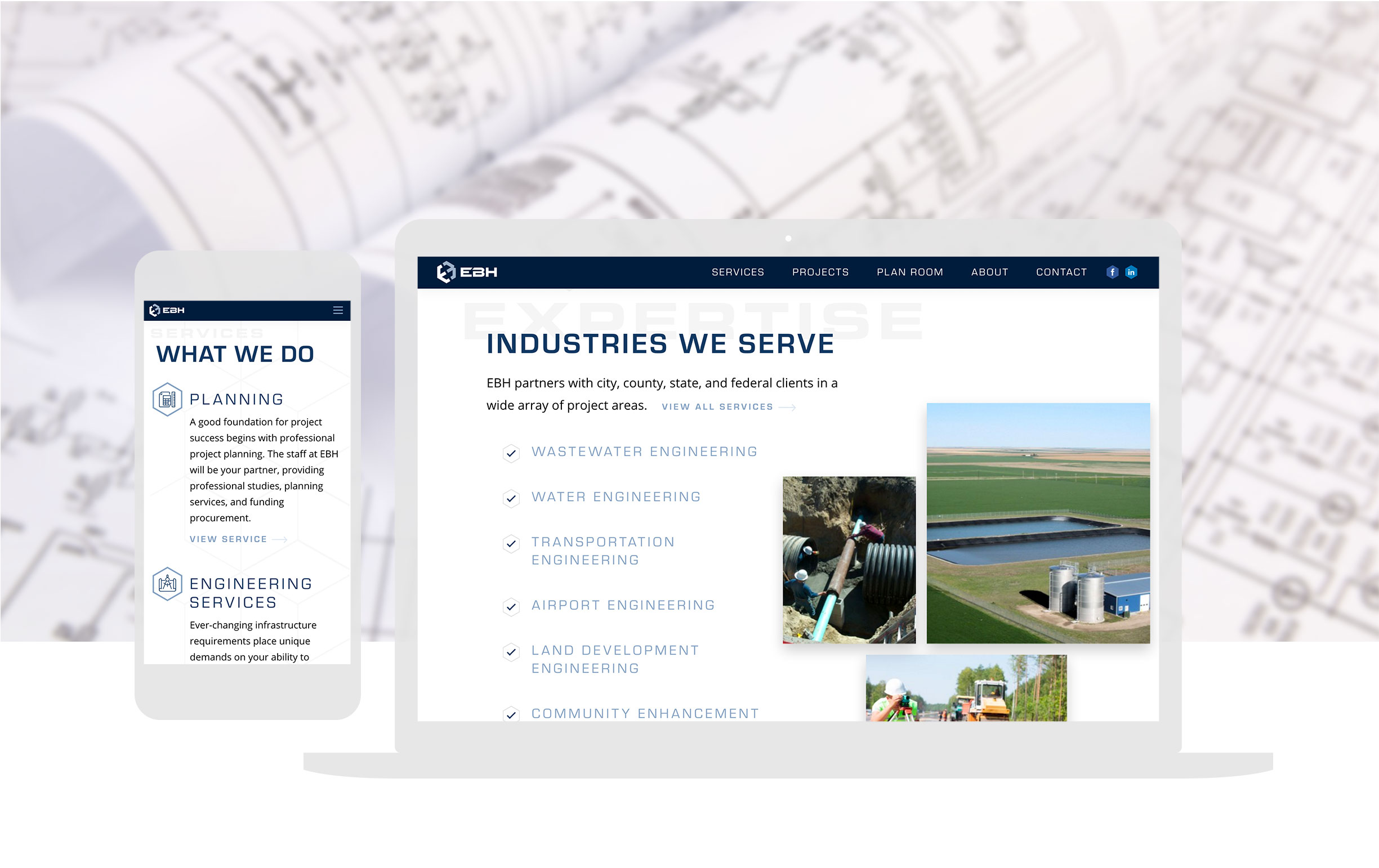 Civil Engineering Custom Website Design_cbd Full Width
