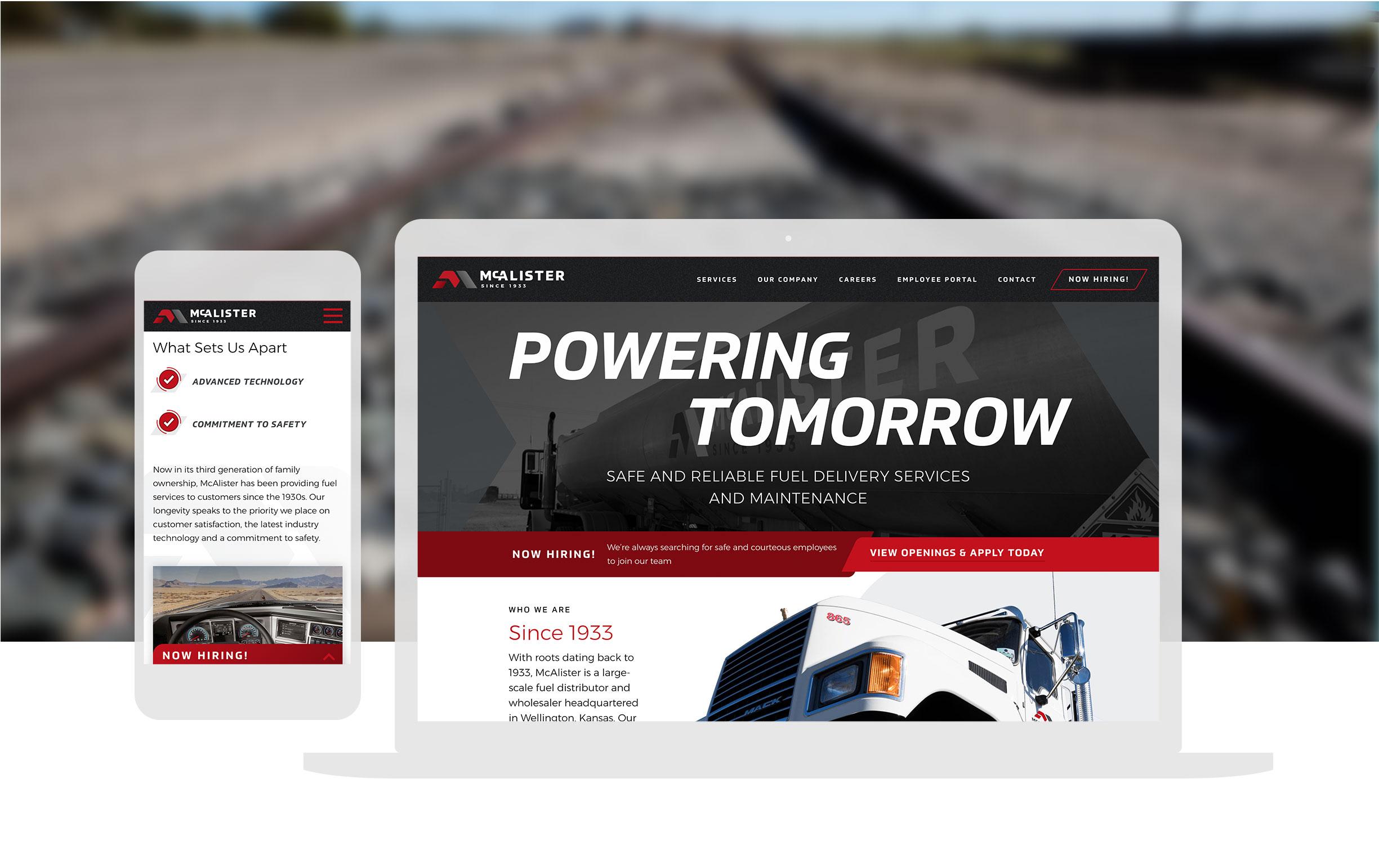 Oilandfuel Website Design And Development Cassandrabryandesign 2