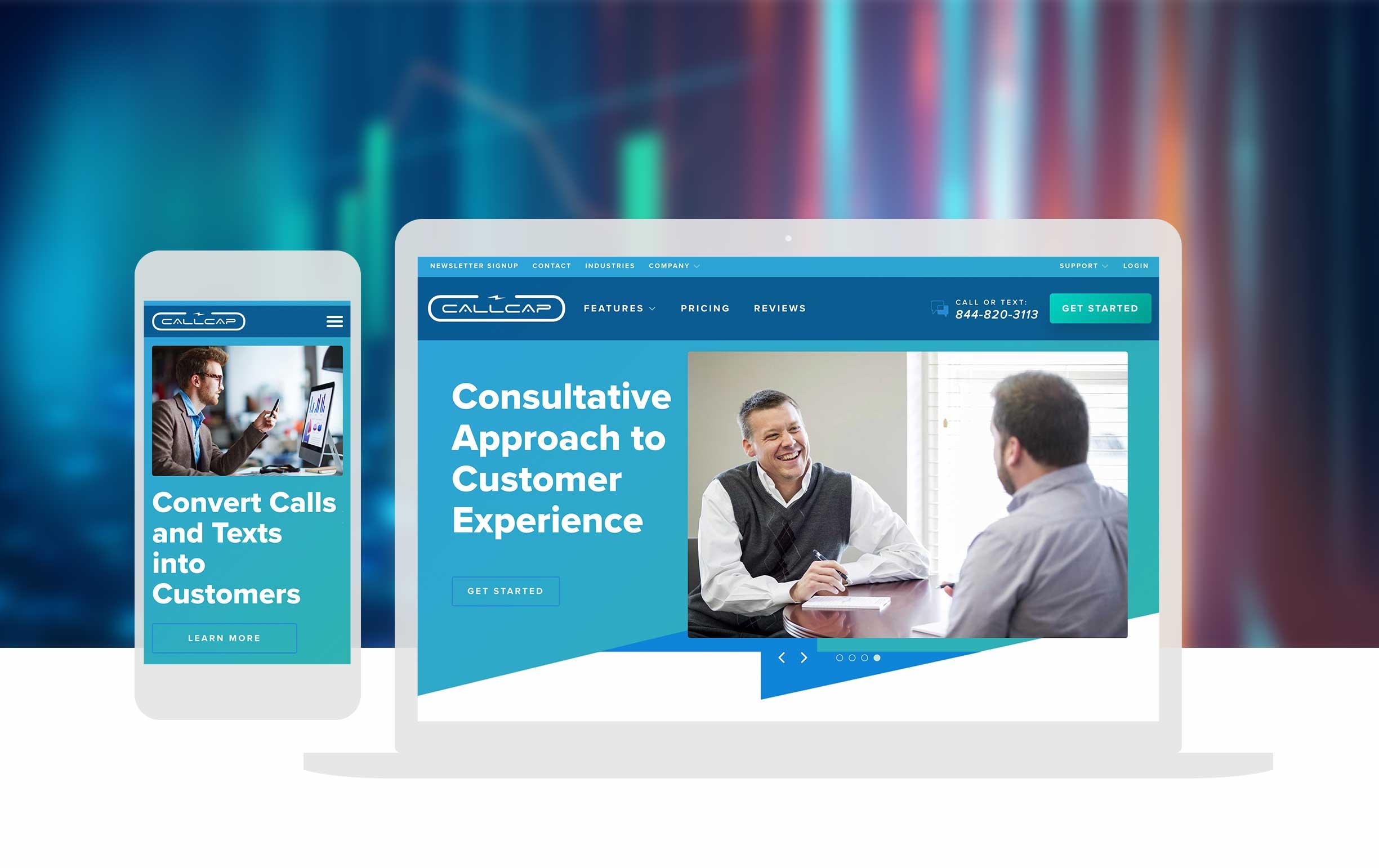 Call Services Website Design_cassandra Bryan Design_callcap 2