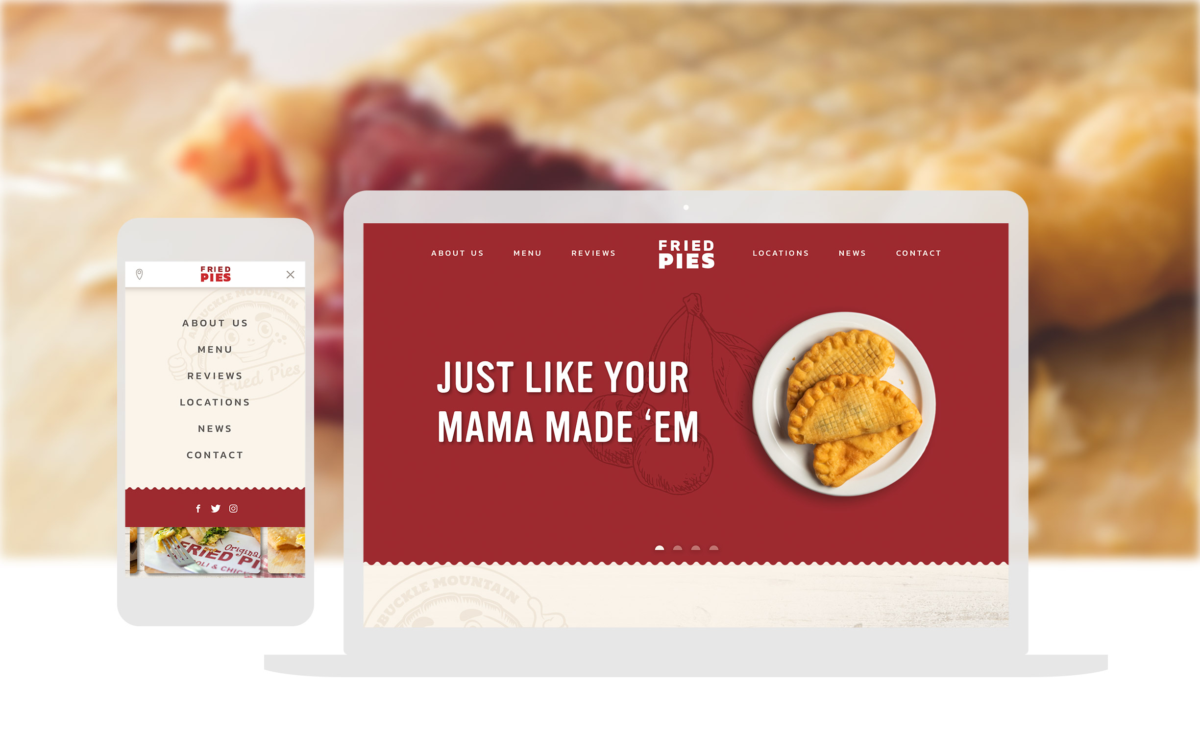 Fried Pies Full Width Image
