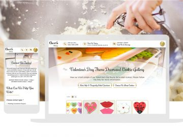 Custom Bakery Responsive Website Design