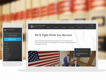 Law Firm Custom Website Design Cassandra Bryan Design 2