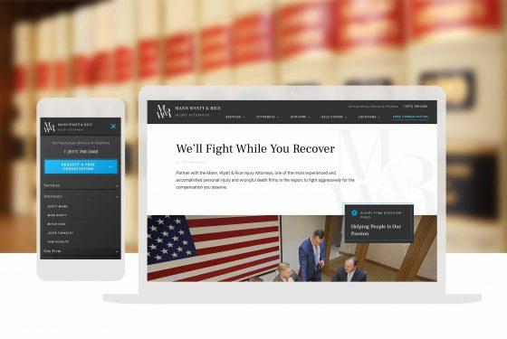 Law Firm Custom Website Design Cassandra Bryan Design 2