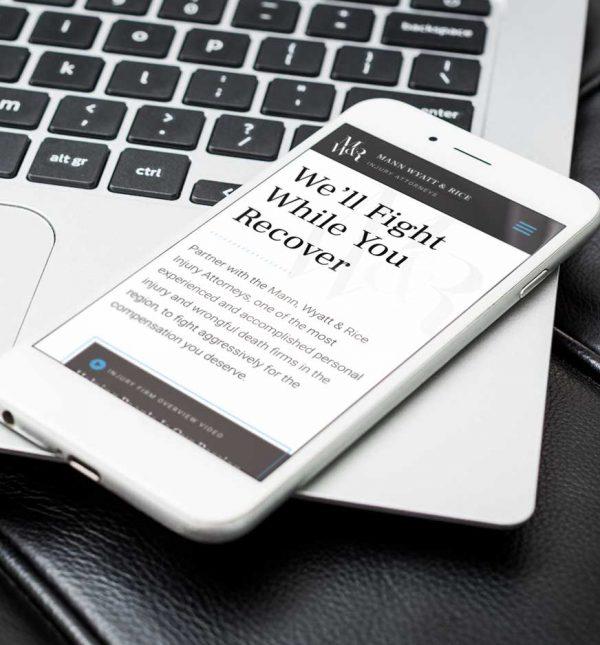 Law Firm Custom Website Design Cassandra Bryan Design 3