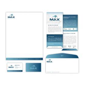 MAX Aerostructures Branding Image 2