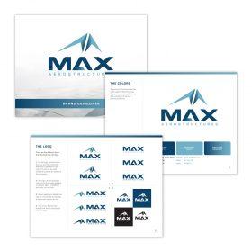 MAX Aerostructures Branding Image 4