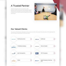 Trinity Precision Website Design Who We Serve