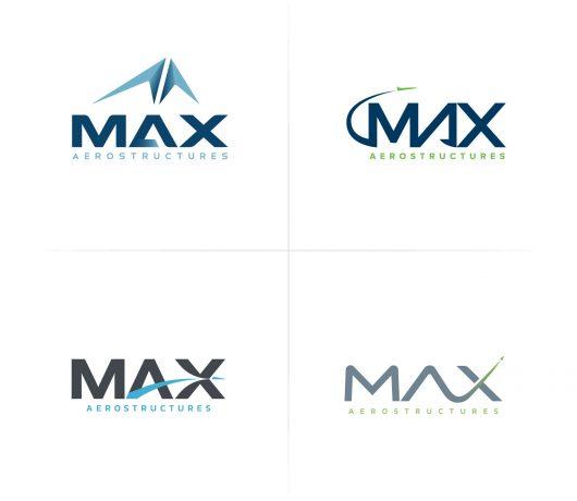 MAX Aerostructures Branding Image 3