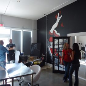 Cassandra Bryan Design Wichita Kansas Website Design Development Christmas Party 2011 1