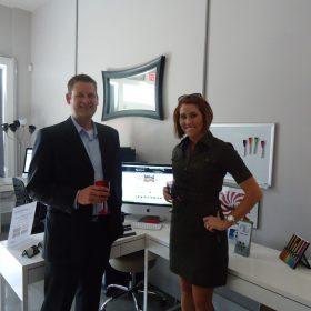 Cassandra Bryan Design Wichita Kansas Website Design Development Christmas Party 2011 2