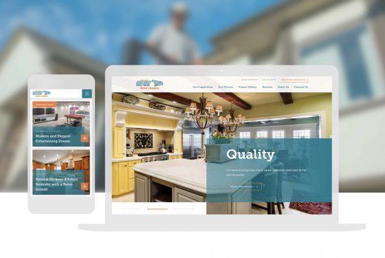 Home Remodeling Web Design Cassandra Bryan Design 3