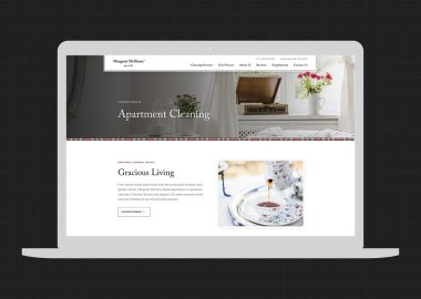 Cassandra Bryan Design Website Design Margaret Mchenry Maids