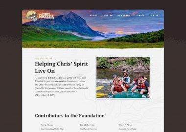 Non Profit Website Design Cassandra Bryan Design 7