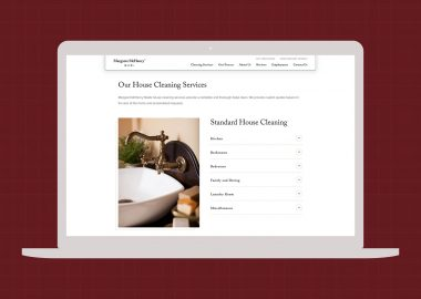 Website Design Wichita Kansas Cassandra Bryan Design Margaret Mchenry Maids