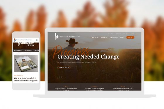Agriculture Non Profit Custom Website Design Cassandra Bryan Design 2