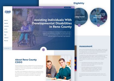 DPOK Non Profit Disability Services Custom Website Design Cassandra Bryan Design 6