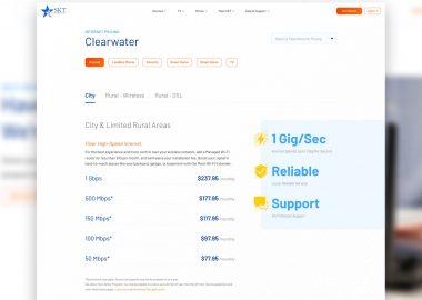SKT Public Facing Service Pricing Pages