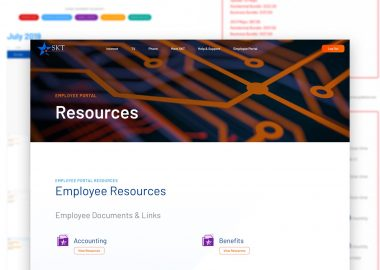 SKT Robust Employee Portal And Resources