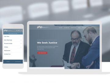 Php Attorneys Website Design Wichita Ks