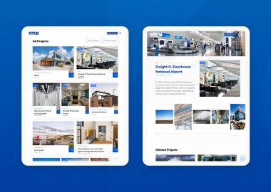 Commerical Construction Website Design Cassandra Bryan Design 8