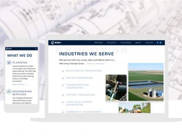 Civil Engineering Custom Website Design Cbd Full Width