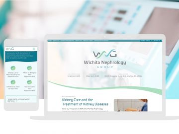 Healthcare Website Design Cassandra Bryan Design 1