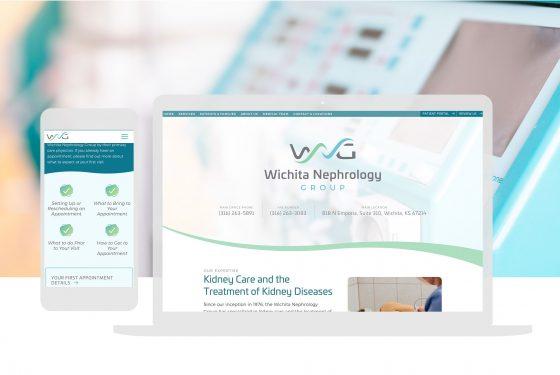Healthcare Website Design Cassandra Bryan Design 1