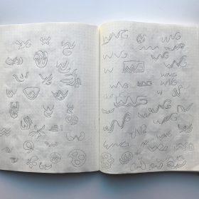 Wng Logo Sketches