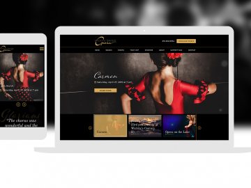 Opera Website Design Cassandra Bryan Design Wgo 4