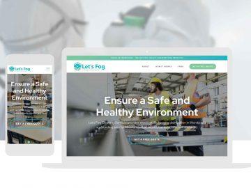 Covid Cleaning Services Website Design Cassandra Bryan Design 4