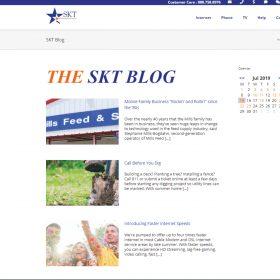 SKT Website Blog (Before Cb{d})