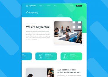 Keycentrix Custom Website Design Wichita Ks Cassandra Bryan Design