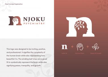 Branding Logo Design Wichita Ks Cassandra Bryan Design Njoku Psychiatry