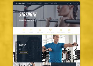 Custom Fitness Website Cassandra Bryan Design 3