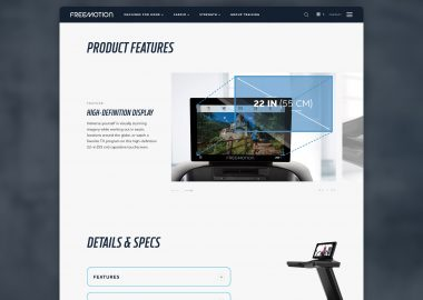 Custom Fitness Website Cassandra Bryan Design 5