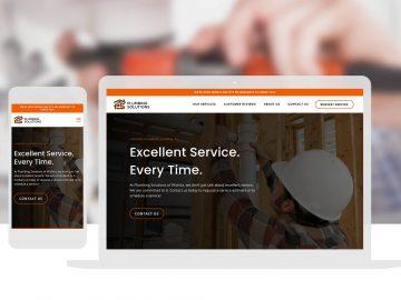 Cassandra Bryan Design Plumbing Solutions Web Design