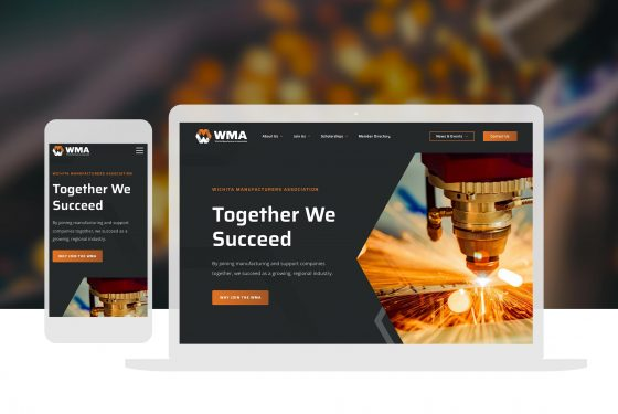 Cassandra Bryan Design Wichita Manufacturers Association Web Design