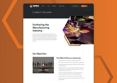 Wichita Manufacturers Association Wichita Ks Web Design 3
