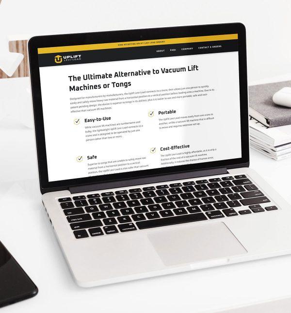 Website Design Wichita Ks Uplift Levi Load Cbd