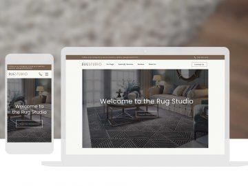 Cassandra Bryan Design Rug Studio Web Design