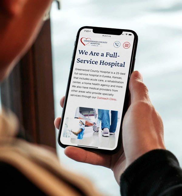 Custom hospital website design and development_cassandra bryan design-2