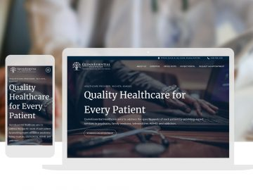 Heathcare Website Design And Development Cassandra Bryan Design 3