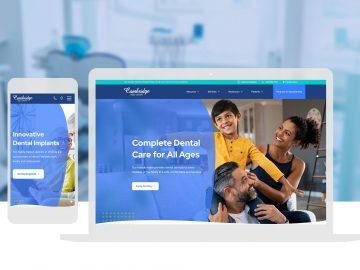 Cambridge Family Dentistry Cassandra Bryan Design Wichita Ks Website Design