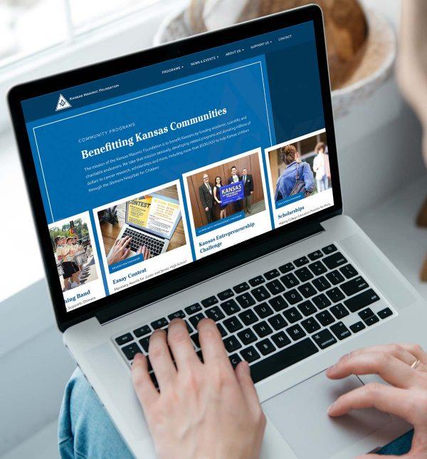Kansas Masonic Foundation Website Design_Cassandra Bryan Design-2