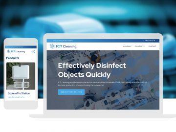 ICT Cleaning Website Design and Development_Cassandra Bryan Design-3